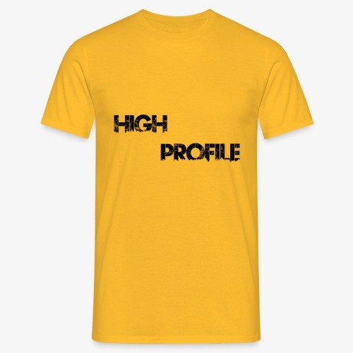 HIGH PROFILE SIMPLE - Men's T-Shirt