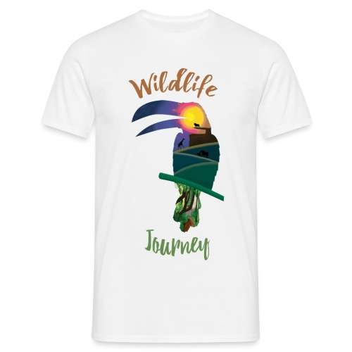 Wildlife Journey - Männer T-Shirt