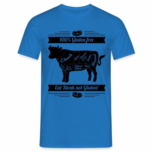 Humorvolles Design für Fleischliebhaber - Männer T-Shirt