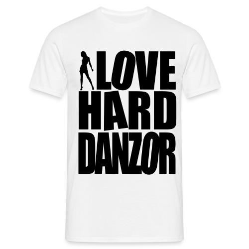 I Love Harddanzor - Männer T-Shirt