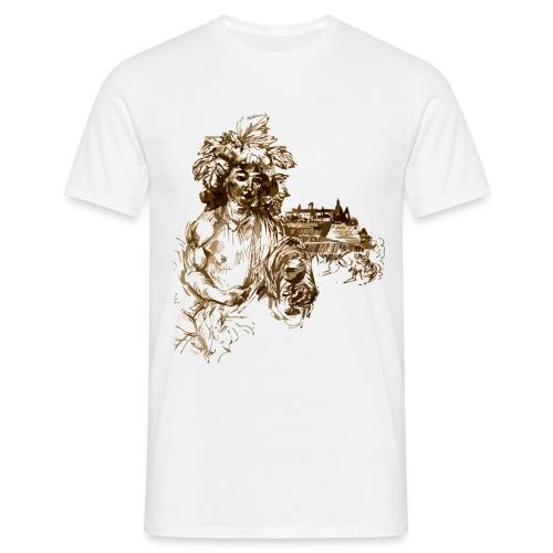 Bacchus 010 - Männer T-Shirt