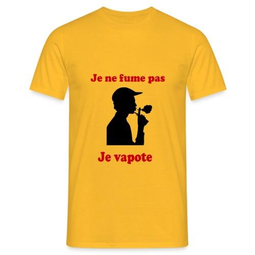 Je ne fume pas, je vapote - T-shirt Homme