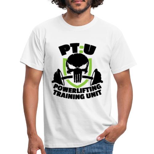 PT:U Powerlifting Training Unit - Men's T-Shirt