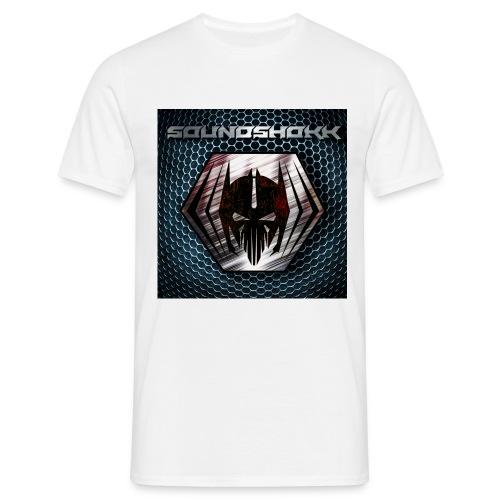 Soundshokk Label Logo - Männer T-Shirt