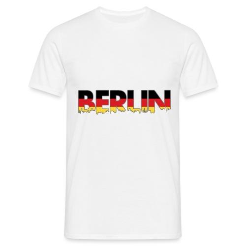 Berlin Typografie - Männer T-Shirt