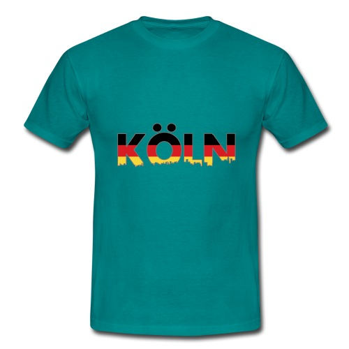 Köln Typografie - Männer T-Shirt