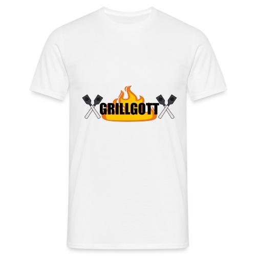 Grillgott Meister des Grillens - Männer T-Shirt