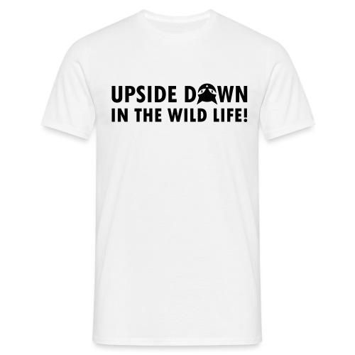 Upside Down Cat - Männer T-Shirt