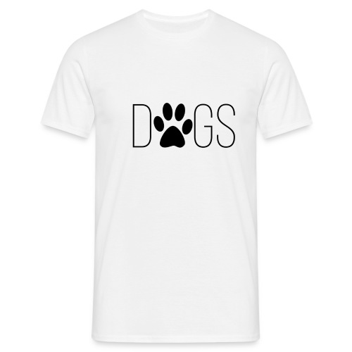 dogs - Mannen T-shirt