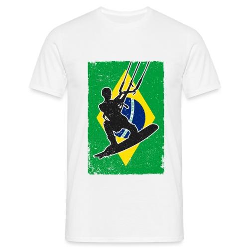 Kitesurfen - Brasilien - Männer T-Shirt