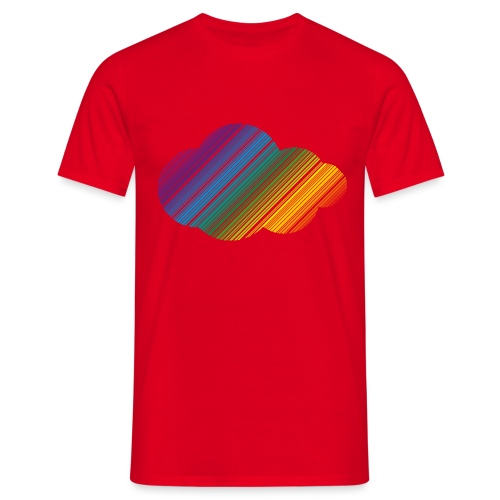 Regnbågsmoln - T-shirt herr