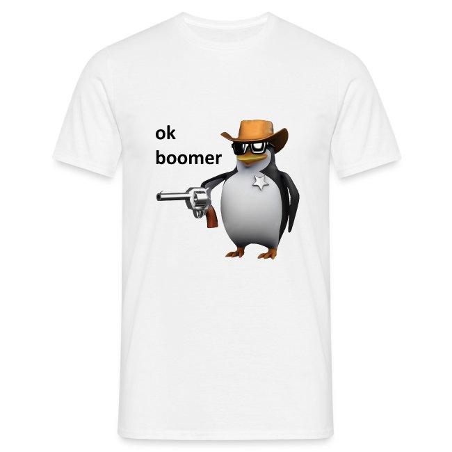 Ok Boomer Penguin Sheriff