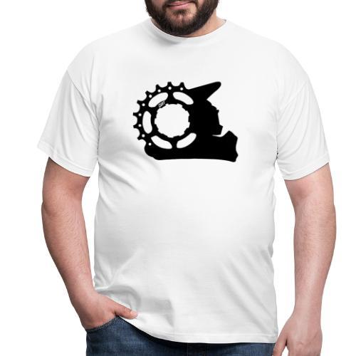 Black & White - Cunt - Männer T-Shirt