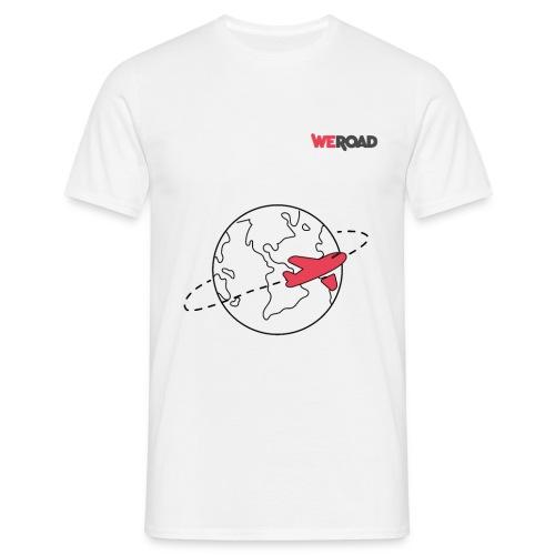 Mondo WeRoad nero - Maglietta da uomo