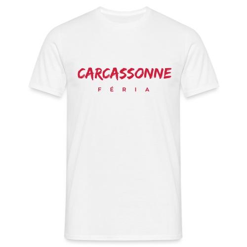 Carcassonne - féria - T-shirt Homme