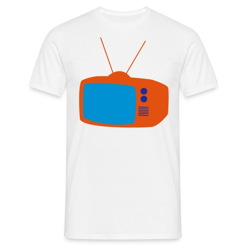 TV_girl_white - Männer T-Shirt
