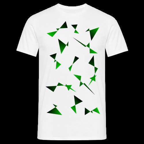 T4Y Triangle Green - Männer T-Shirt