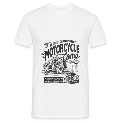 MOTORCYCLE COMP - Men's T-Shirt
