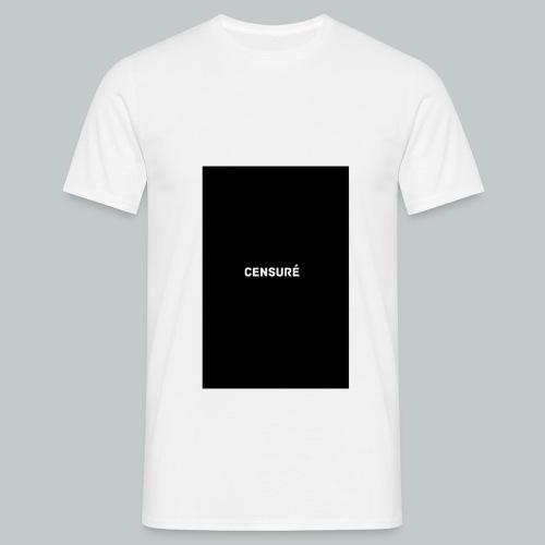 censuré png - T-shirt Homme