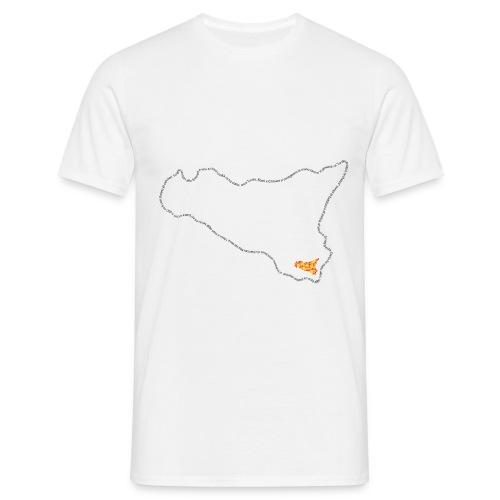 logo sicilia piccolo - Maglietta da uomo