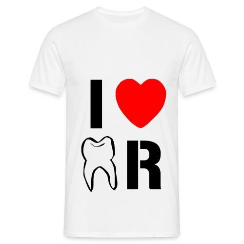 I Love Dentaire Noir - T-shirt Homme
