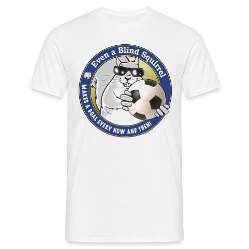 Blind Squirrel Soccer - Men's T-Shirt
