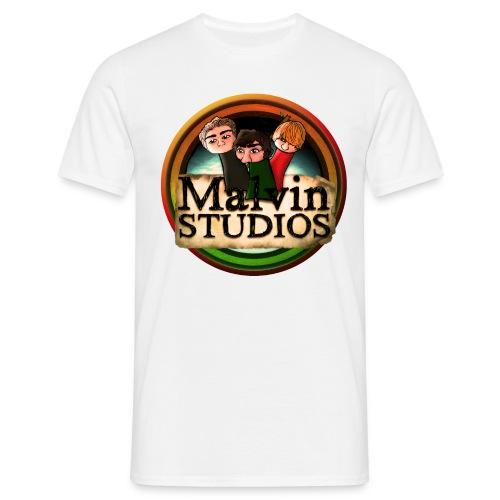 malvin studios snygg logga - T-shirt herr