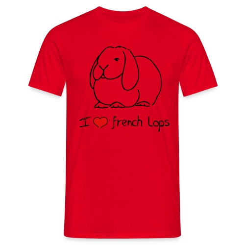 French Lop - Men's T-Shirt