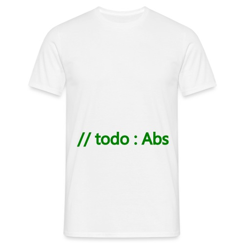 todo abs - Men's T-Shirt