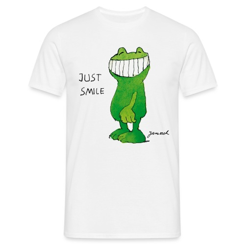 Janoschs Günter Kastenfrosch Just Smile - Männer T-Shirt