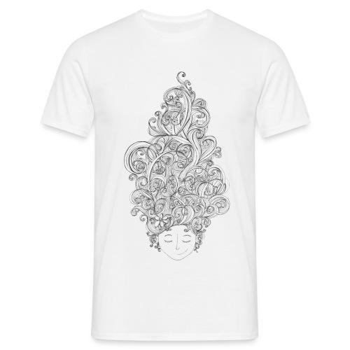 Head full of doodles - T-shirt herr