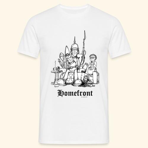 Homefront Heimatfront Waffen Mama Muttersöhnchen - Männer T-Shirt