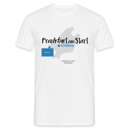 Frankfurt am Start - Rödelheim - Männer T-Shirt