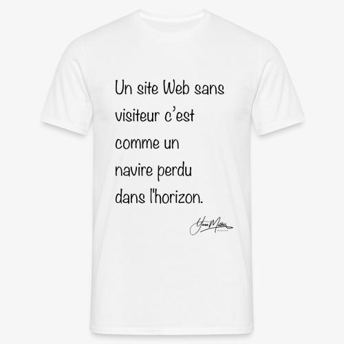 devis webdesigner - T-shirt Homme