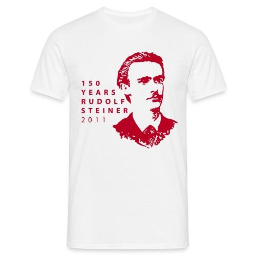 150 Years Rudolf Steiner 2011 - Männer T-Shirt