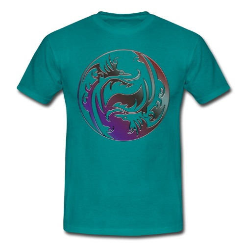 DRAGON Yin & Yang - Männer T-Shirt