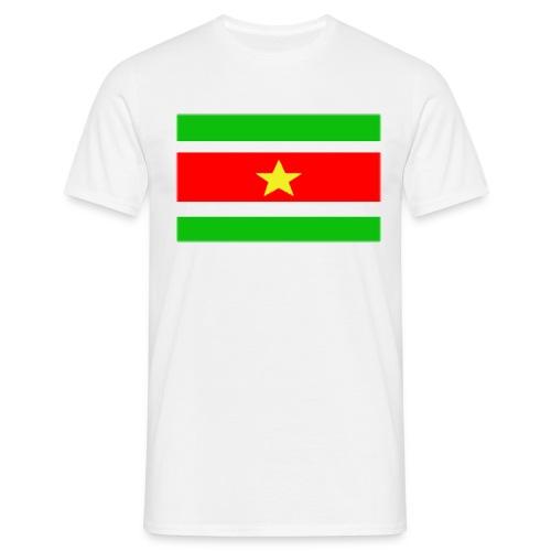 surinaamsevlag - Mannen T-shirt