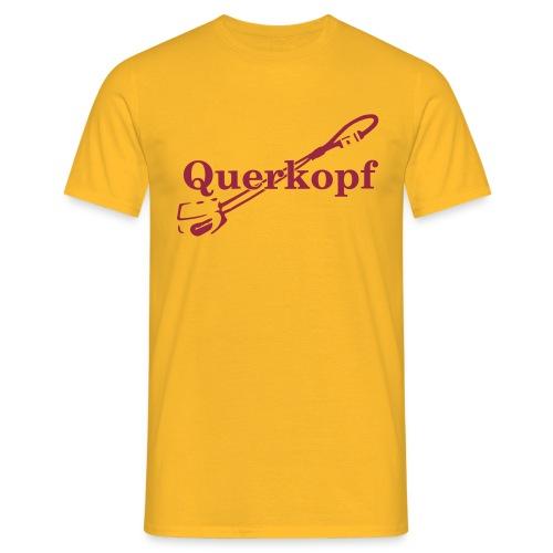 Querkopf - Männer T-Shirt