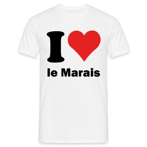 i love le Marais - T-shirt Homme