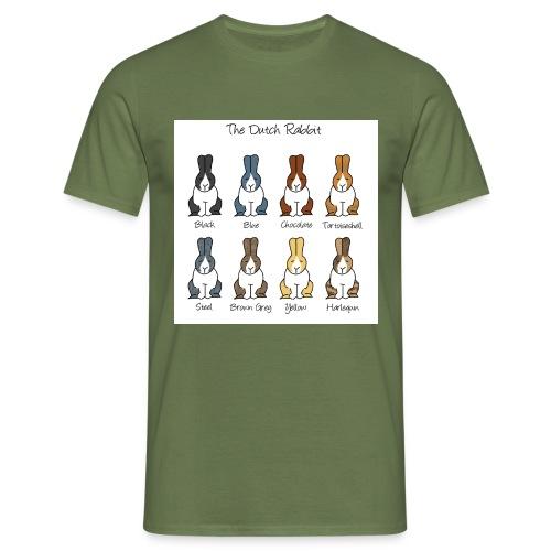 Dutch Rabbit Colours - Men's T-Shirt