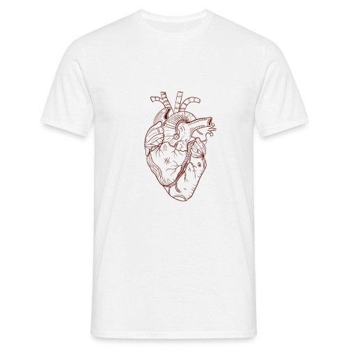 Beaten Heart - Men's T-Shirt