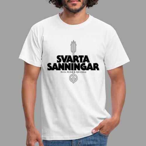 logo black - T-shirt herr