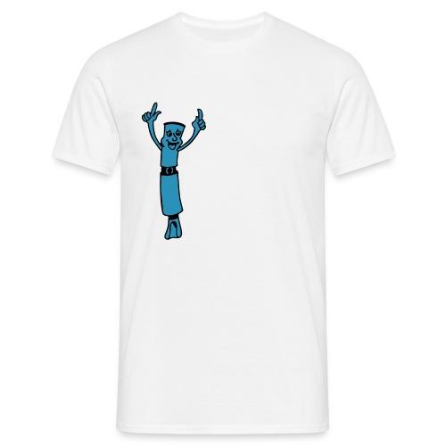 feiernderegoistshg - Männer T-Shirt
