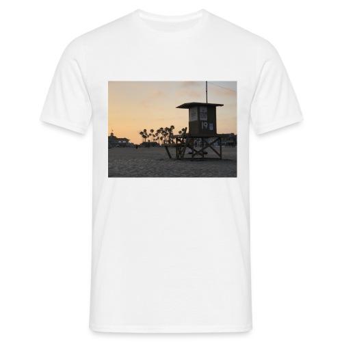 Los Angeles sundown - Mannen T-shirt