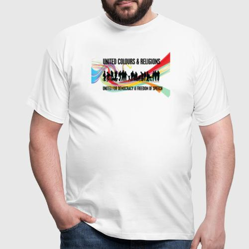 united colours dk png - Herre-T-shirt