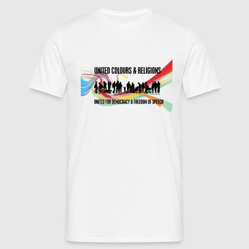 united colours dk png - Herre-T-shirt