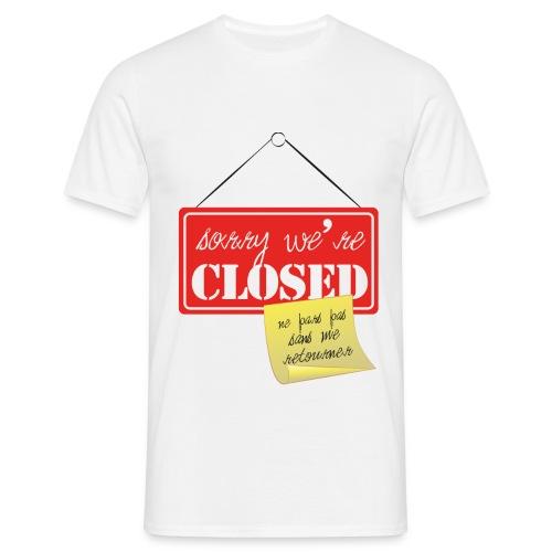 Ne pars pas sans ME retourner - T-shirt Homme