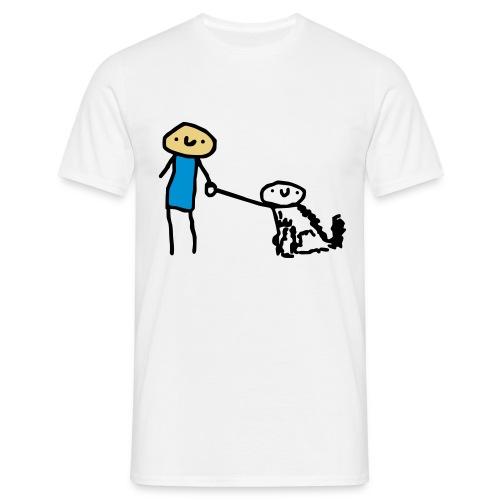 tamokohund - T-shirt herr