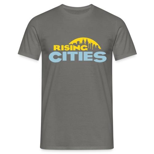 Rising Cities Logo stylized - Männer T-Shirt