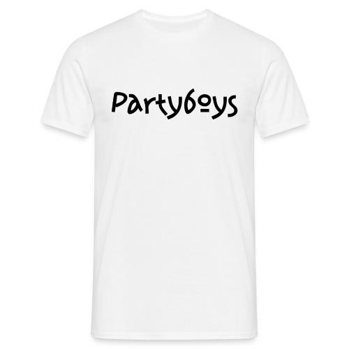partyboys - T-skjorte for menn
